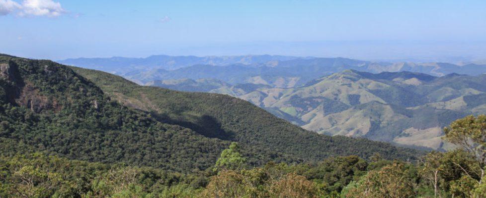 Amazing view of moutain range.
